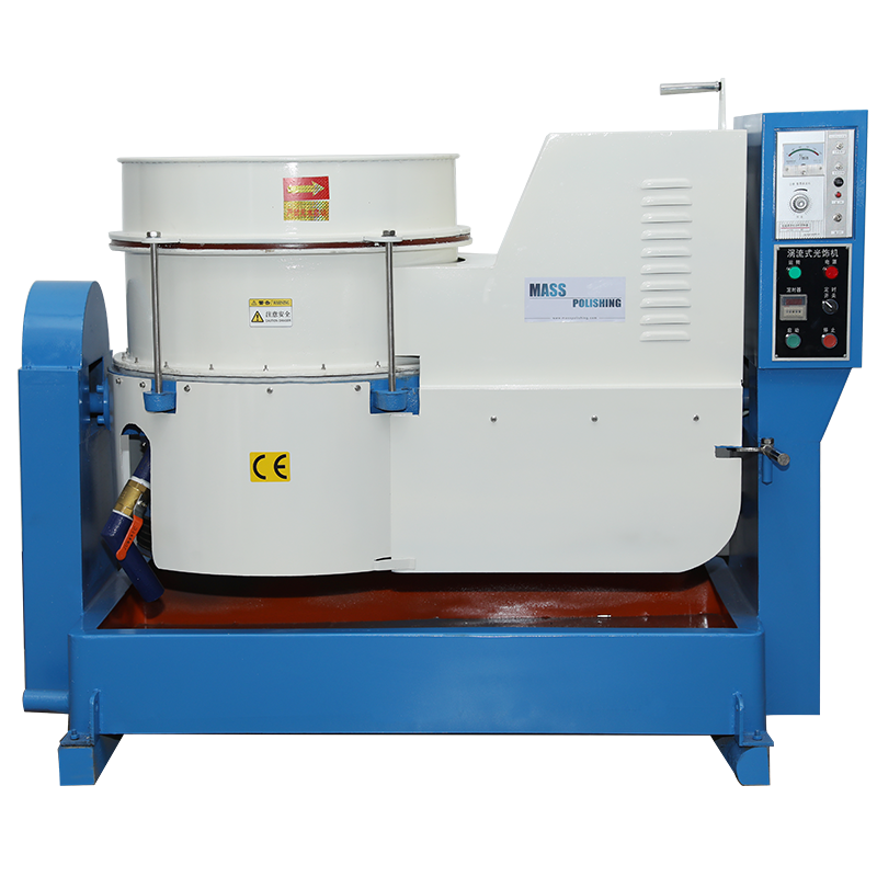 120L 4Cft Centrifugal Disc Finishing Machine with Manual Unloading