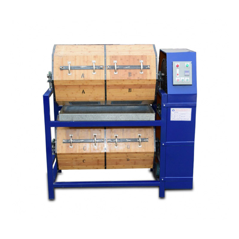 600L 20Cft Wood Barrel Dry Polishing Machine