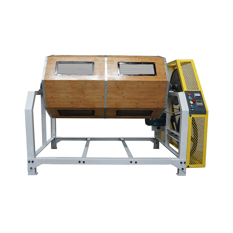 300L 10Cft Wood Barrel Dry Polishing Machine